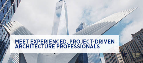 Meet experienced, project-driven architecture professionals