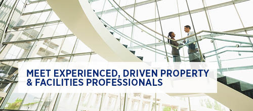 Meet experienced, driven property and facilities management professionals