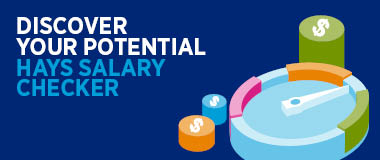 Discover your potential with the Hays Salary Checker