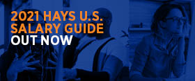 2021 Hays U.S. Salary Guide Out Now